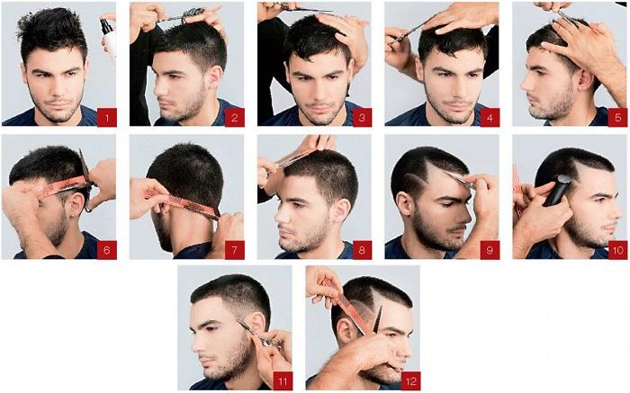 стрижка на короткие волосы