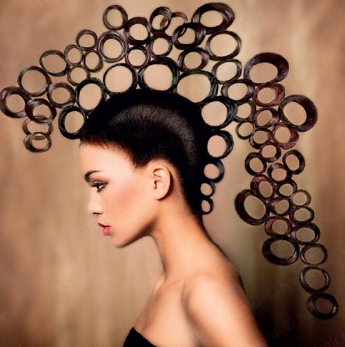 структура волос монголоидного типа