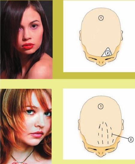 Схема колорирования волос «На