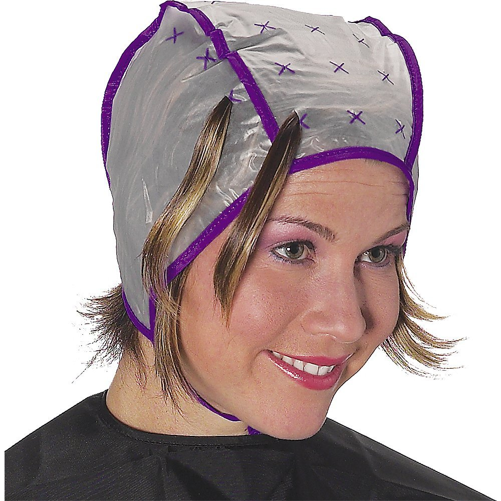 мелирование шапочкой в домашних условиях