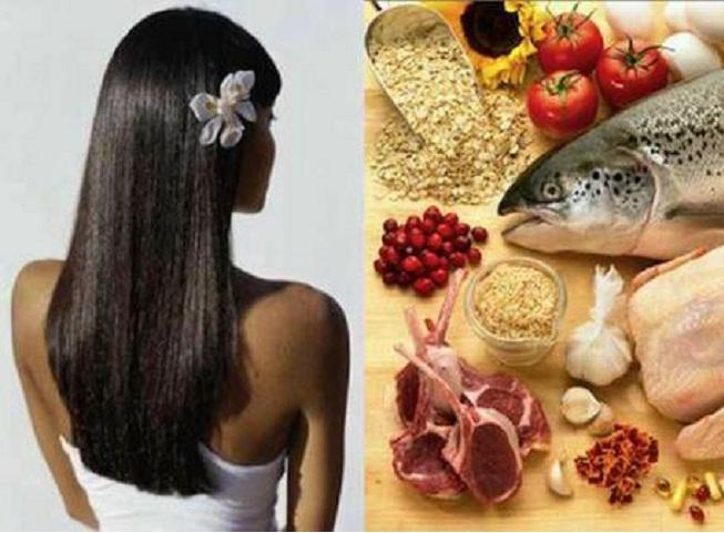 правильное питание для волос