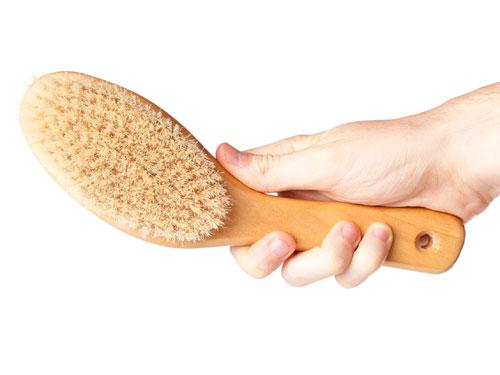щетка из щетины для волос