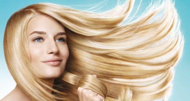 красивые светлые волосы