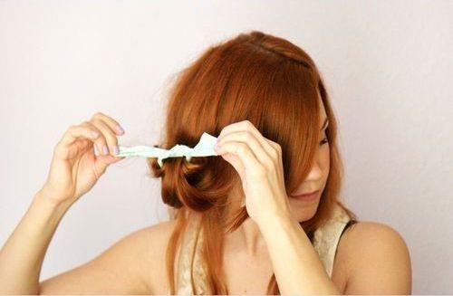 как накрутить волосы на тряпочки — пошагово, фото 1