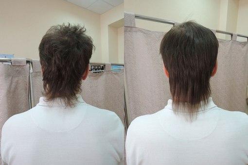 кератин и короткие волосы