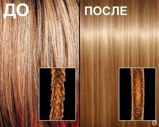 кератиновое восстановление волос, фото до и после