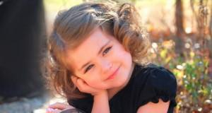 прическа для девочки, средние волосы