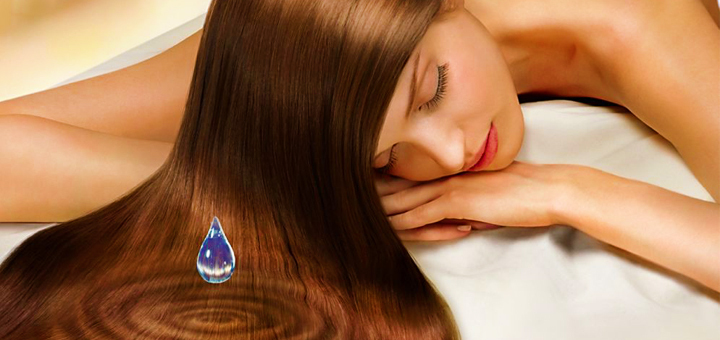 экранирование волос, увлажнение