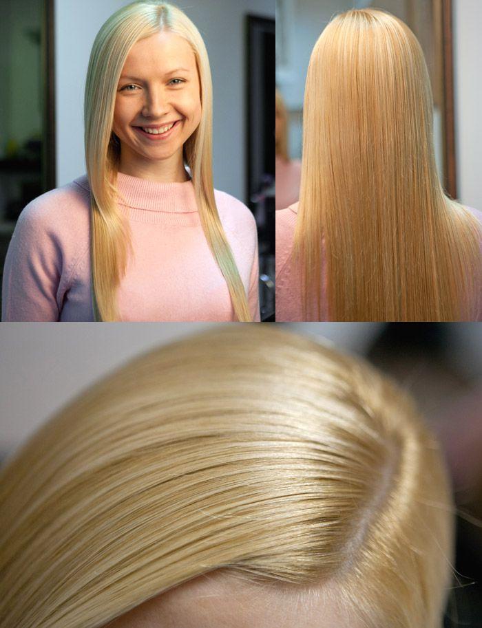 кератирование на осветленные волосы