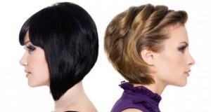 Эффектные причёски на короткие волосы